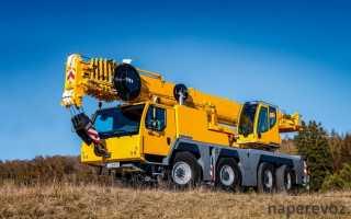 Автокран 10 тонн технические характеристики