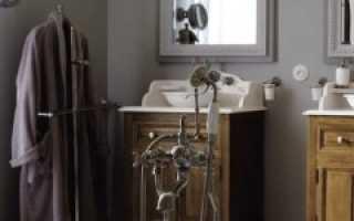 Ванная комната под старину