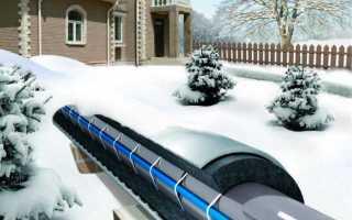 Теплая труба для водопровода