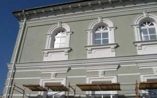 Готовая фасадная шпаклевка для наружных работ