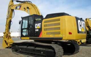 Cat 336 технические характеристики
