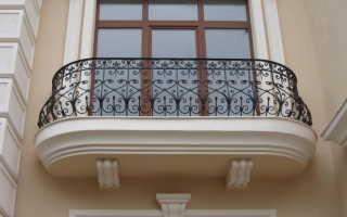 Перила на балкон фото
