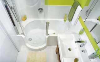 Ванная комната на 4 37 метрах фото