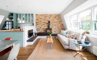 Кухня гостиная цвет стен