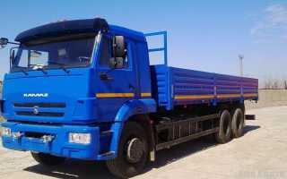 Камаз 65117 технические характеристики
