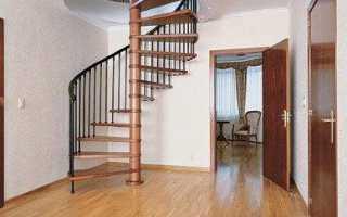 Как сделать круговую лестницу