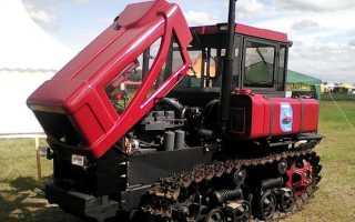 Трактор гусеничный дт 75мл технические характеристики