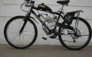 Мотор на велосипед из бензопилы