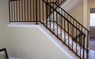 Как сварить перила для лестницы