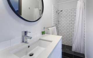Ванная комната неправильной формы дизайн