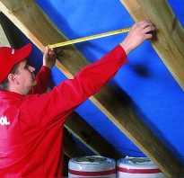 Лаги для крыши размеры