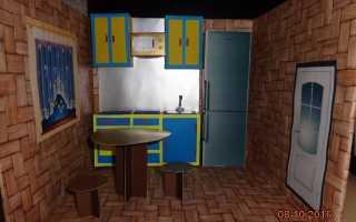 Кухня для барби фото