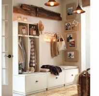 Встроенный шкаф в маленькой прихожей