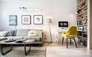 Маленький зал в хрущевке дизайн фото