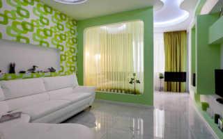 Спальня в гостиной 20 метров фото