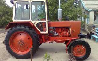Где выпускают трактор юмз