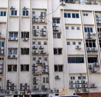 Кондиционеры на фасаде