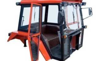Самодельные кабины тракторов