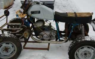 Самоделки из мотоцикла иж