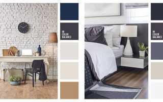 Серые стены с каким цветом сочетать