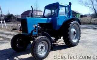 Трактор мтз 82 вес