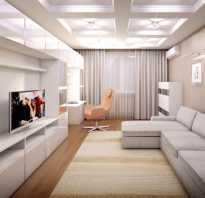 Дизайн гостиной спальни 20м