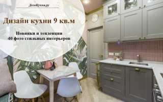 Кухня дизайн интерьер фото 9 кв