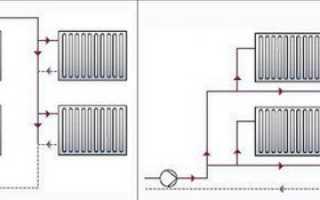 Чертеж системы отопления частного дома