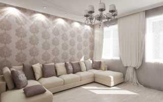 Светлый зал в квартире
