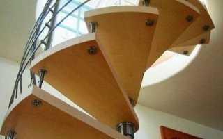 Как сделать круглую лестницу