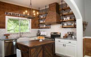 Кухня дизайн стен