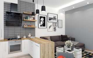 Кухня для маленькой квартиры студии