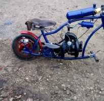 Мотоцикл из бензопилы своими руками