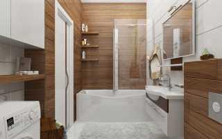 Ванная комната кафель под дерево