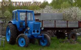Вес трактора мтз 50