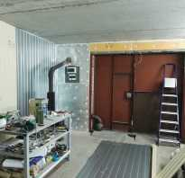 Чем утеплить стены в гараже изнутри недорого