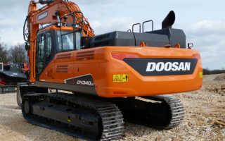 Doosan dx340lca технические характеристики