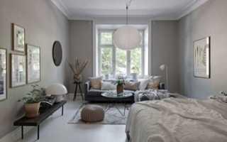 Дизайн маленькой спальни гостиной фото