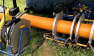Соединение пластмассовых водопроводных труб
