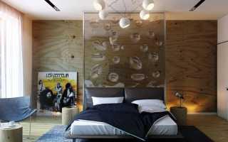 Спальня кабинет 15 кв м