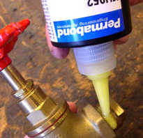 Жидкий герметик для труб