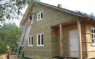 Чем утеплить стены в доме снаружи