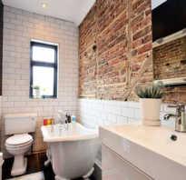 Ванная комната лофт