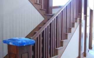Как правильно установить лестницу на второй этаж