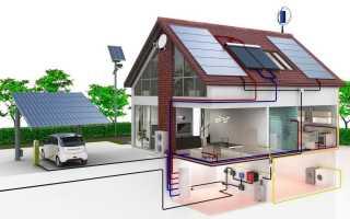 Как установить электрическое отопление в частном доме