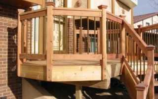Как сделать перила для деревянной лестницы