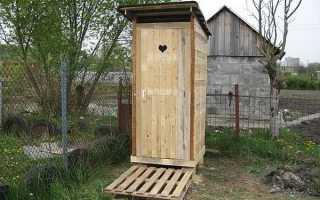 Как делать крышу туалета