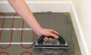 Как стелить электрические теплые полы видео