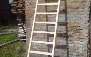 Как сделать легкую лестницу