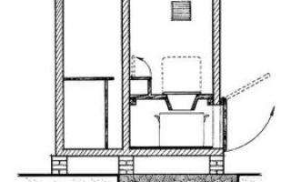Крыша для дачного туалета